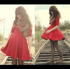 Red dress. My fiance will be grad. From Navy bootcamp in december and I'm gonna find this outfit to wear to it.