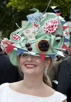 Best hat ever! Mad Hatter's Tea Party (Ascot)