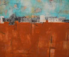 Abstract Landscapes - Wendy Tribulski... Abstract Paintings