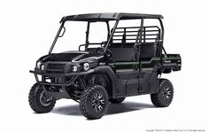 New 2017 Kawasaki MULE PRO-FXT EPS LE ATVs For Sale in Massachusetts. The 2017 MULE PRO-FXT side x side has incomparable strength and endless durability backed by over a century of Kawasaki Heavy Industries, Ltd. engineering knowledge. Go and get the job done with the MULE PRO-FXT side x sides three-passenger Trans Cabsystem, or easily convert it to six-passenger mode for a revolutionary new way to work and play. To top it off, the MULE PRO-FX is backed confidently by the Kawasaki STRONG…