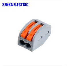 8.88$  Watch now - http://ali1rw.shopchina.info/go.php?t=32431351111 - 100pcs 222-412/PCT-212  2 pin Wago Universal Compact Wiring Connector Conductor Terminal Block with Lever 8.88$ #buychinaproducts