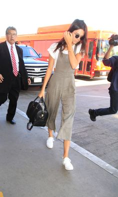 Kendall Jenner Masters The Culotte Jumpsuit
