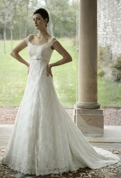 Darcy dress by Joyce Young Collections Scottish Wedding Dresses, Wedding Dresses London, Wedding Dress Boutiques, Wedding Dress Accessories, Designer Wedding Dresses, Wedding Designs, Wedding Styles, Wedding Ideas, Joyce Young