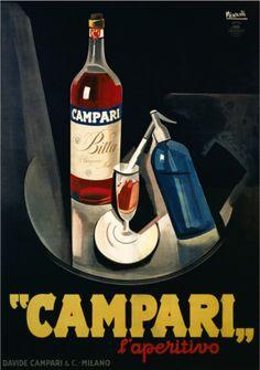 Vintage Campari Poster.