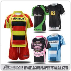 Achieve rugby uniform