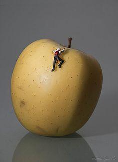 Mini attaque de la face nord du mont pomme