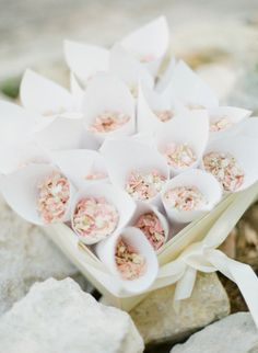 Rose petals: http://www.stylemepretty.com/2014/12/09/classic-french-chateau-wedding-in-provence/ | Photography: Greg Finck - http://www.gregfinck.com/