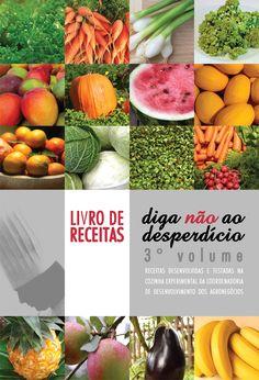 Vários livros de receitas saudáveis e tematizadas no site da Codeagro.