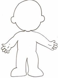 corpo de menino p colorir - Pesquisa Google