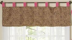 Cheetah Girl Pink and Brown Window Valance by Sweet Jojo Designs *** To view further for this item, visit the image link.Note:It is affiliate link to Amazon.