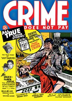 The good (bad) old days of violent comics.