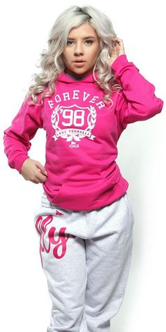 FOREVER LOVE YOURSELF HOODIE: PINK (UNISEX FIT)
