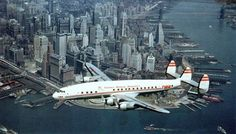 The old girl is gracing the skies of Manhattan 1940s