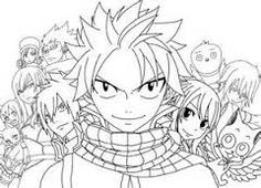 fairy tail coloring pages anime | coloring Pages | Pinterest | Fairy ...
