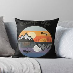 Promote | Redbubble Camping, Throw Pillows, Studio, Shirts, Campsite, Toss Pillows, Decorative Pillows, Decor Pillows, Outdoor Camping