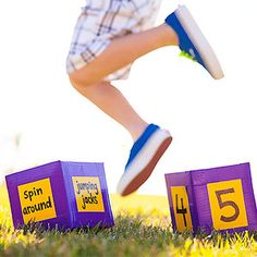 Get-Active Games for Kids and Families: Counting on Exercise (via FamilyFun Magazine)