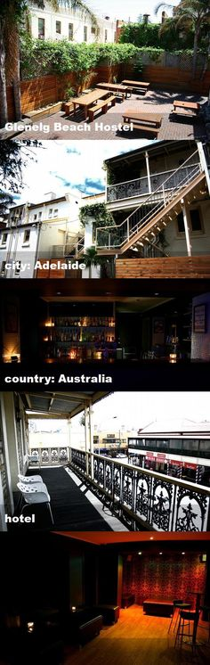 Glenelg Beach Hostel, city: Adelaide, country: Australia, hotel Australia Hotels, Hostel, Tour Guide, Tours, Mansions, Country, House Styles, City, Beach
