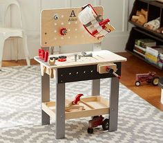 Personalized Woodwork Bench #pbkids