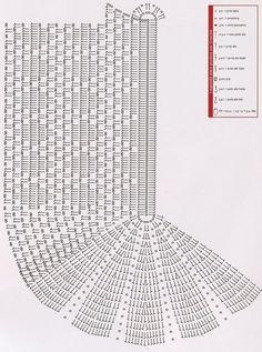 Com este gráfico é possível fazer desde tapetinhos até passadeiras.    Então, mãos à obra!