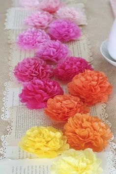 vibrant assorted flowers for table decor