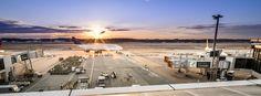 Sunset rush hour - Delta Airlines B744 pushing back Narita INT, JP.