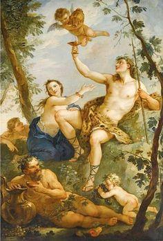 Charles Joseph Natoire (1700 – 1777, French)The Triumph Of Bacchus