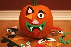 Notes from a Novice Primary Music Leader: Halloween Singing Time Ideas - Decorating Pumpkin, Marvin the Musical Monster