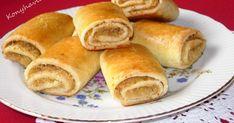Ezt a receptet anyukámtól tanultam, előtte pedig nagymamám sütötte gyakran a káposztás hajtókát. Nem is kell mellé más, mint egy laktató lev... Salty Snacks, Hungarian Recipes, Hot Dog Buns, Sweet Potato, Paleo, Rolls, Potatoes, Sweets, Bread