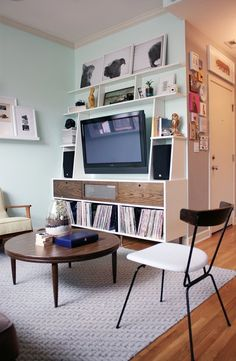 How to Hide or Disguise a TV in a Room   Apartment Therapy