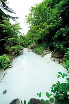 【福島】安達屋旅館  その長さ約30m!川のように長~い露天風呂!