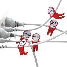 The Mark Brothers identificador de cables, es una diseño de Pelegdes!Gn. ¡Súper práctico! ¿Lo quieres?