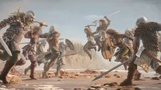 A Viking group of raiders was terrible to the victims. But a Viking army emerging to seek revenge was more catastrophic. The Great Army of the Vikings was once willing to do anything only to see Anglo-Saxon fall. Viking Warrior Names, Viking Battle, King Ragnar, Ancient Egyptian Art, Ancient Aliens, Ancient History, Ancient Greece, Art Viking, Viking Warrior