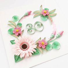 80th Birthday Card Handmade Birthday Card Floral by Gericards