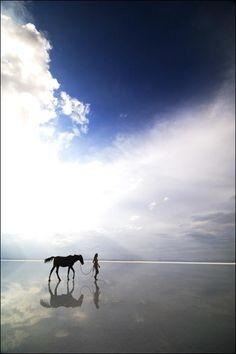 A walk on the beach....