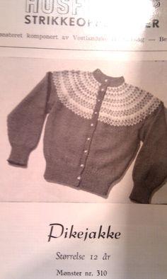 Husfliden 310 Norwegian Knitting, Nordic Style, Knit Crochet, Barn, Patterns, Sweaters, Kids, Fashion, Block Prints