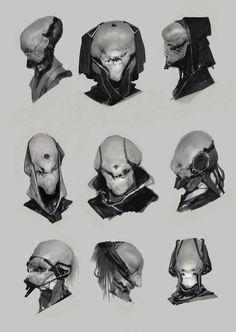 Faces for days, Anthony Jones on ArtStation at https://www.artstation.com/artwork/WlJk3