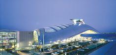 L'aéroport d'Incheon en Corée du Sud est une réussite architecturale.