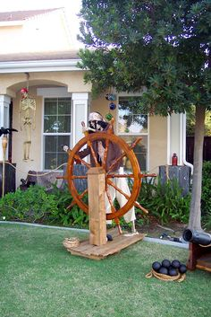 1000 images about pirate theme haunt ideas on pinterest for Deco exterieur halloween