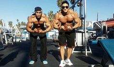 Bodybuilder (Korean) / Hwang Chul Soon (황철순) with Another
