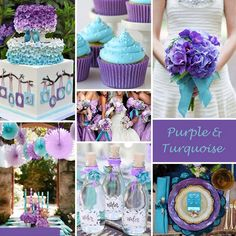 Turquoise and Yellow Wedding Colors - Turquoise and Yellow is a vibrant combination perfect for a spring or summer wedding. Description from pinterest.com. I searched for this on bing.com/images