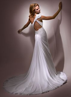 Azelia Bridal Gown Maggie Sottero - Why am I obsessed with the backs of wedding dresses?