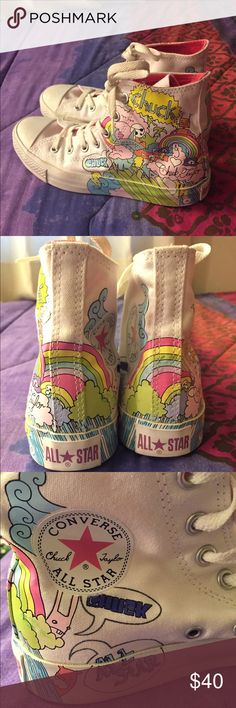 afbf9c54c5c Limited Edition Doodle Converse  Retired  Limited Edition Chuck Taylor High  Top Converse. Doodle