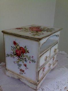 Винтажный шик. Мебель и предметы интерьера. Decoupage: Немного новых работ