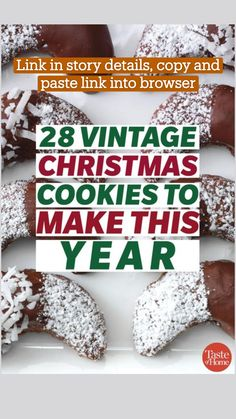 Cookie Desserts, Holiday Baking, Christmas Desserts, Cupcake Cookies, Cookie Recipes, Cupcakes, Christmas Food Treats, Christmas Cooking, Christmas Goodies