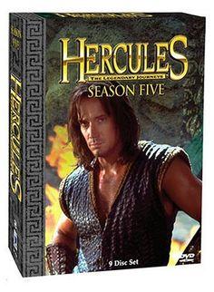 Hercules The Legendary Journeys - Season 5 DVD ~ Kevin Sorbo