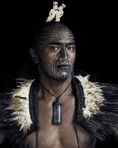 Маори из Новой Зеландии