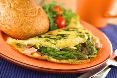 Špargľové omelety