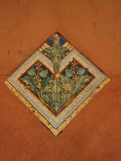 Mosaics on the walls in Murano, Italy