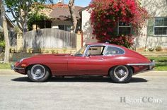 HistoriC Cars - Prodej Jaguar E-Type XKE Coupe V8 1969