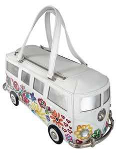 Handbag shaped like vintage Volkswagen bus